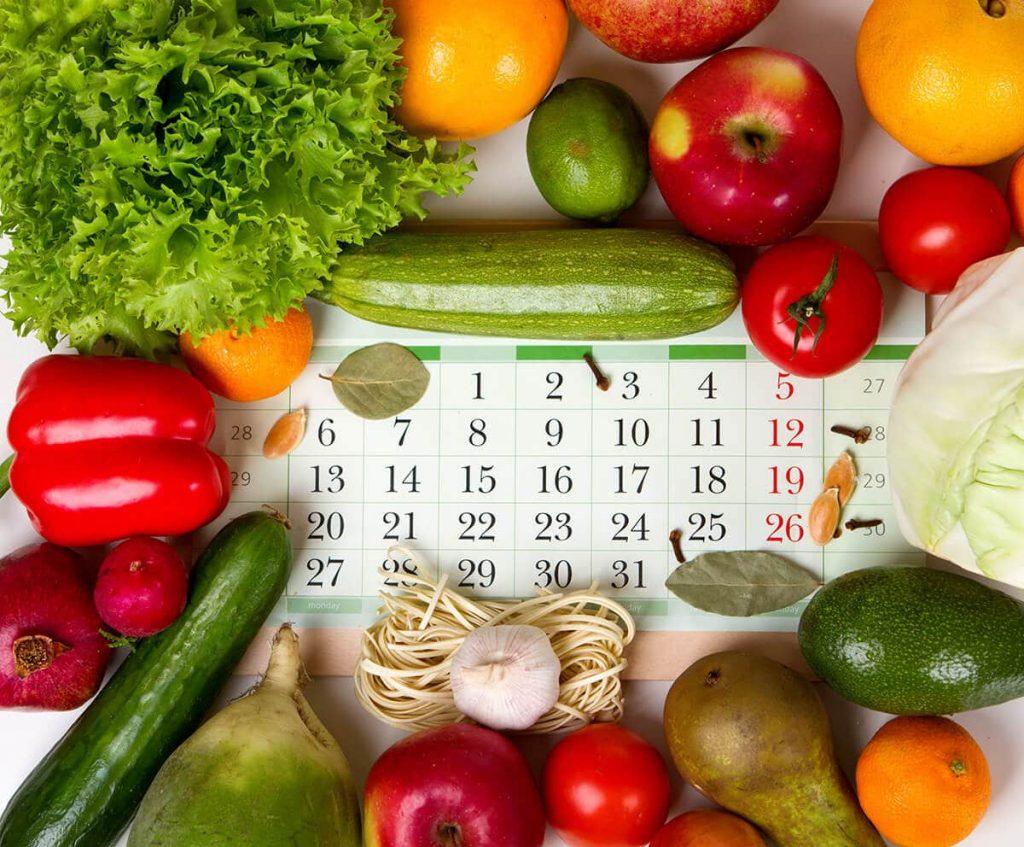 aylara göre sebze ve meyveler (365gun.com)